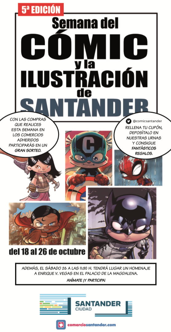 cómic santander flyer 1