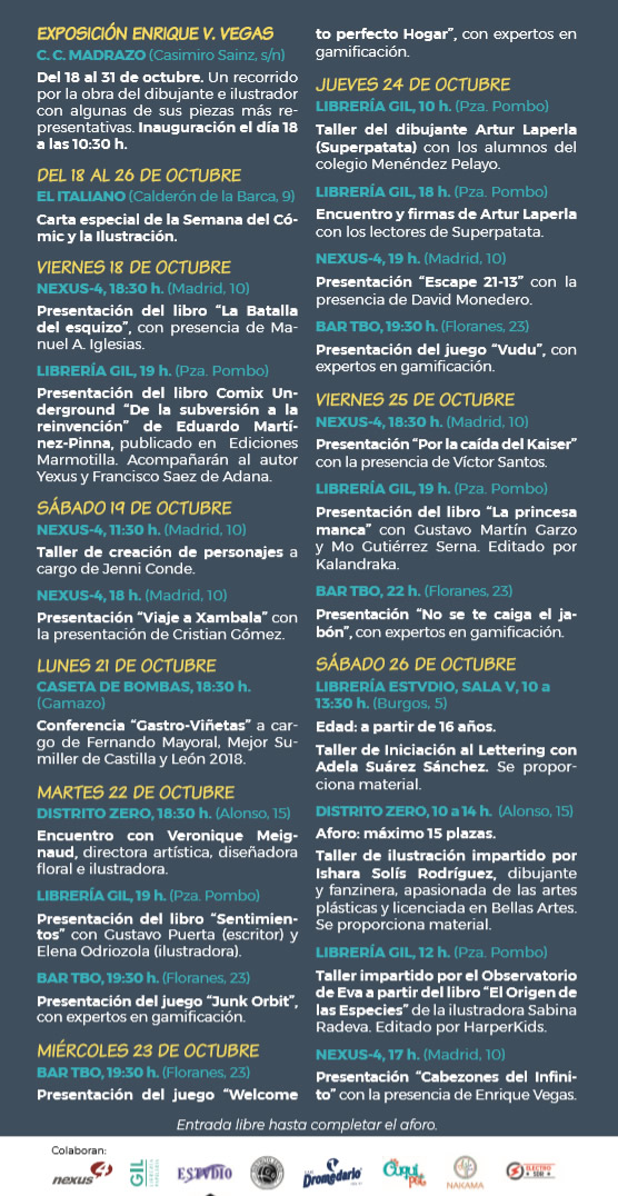 cómic santander flyer 2