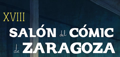 Laura Rubio dibuja el cartel del Salón del Cómic de Zaragoza 2019