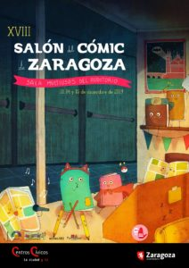 cartel salon comic zaragoza 2019